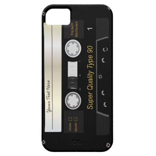 Audio Cassette  Tape iPhone 5 Case