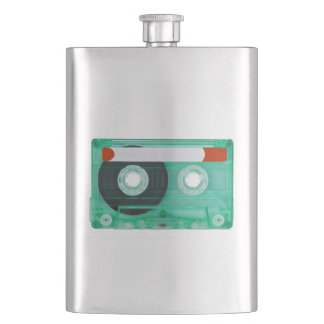 audio compact cassete flask