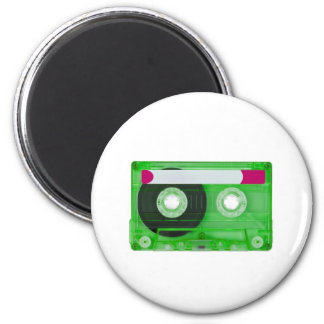 audio compact cassette 2 inch round magnet