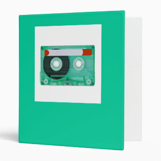 audio compact cassette 3 ring binders