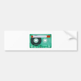 audio compact cassette bumper sticker