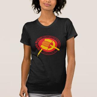 Audio de la cera - la camiseta de las mujeres polera