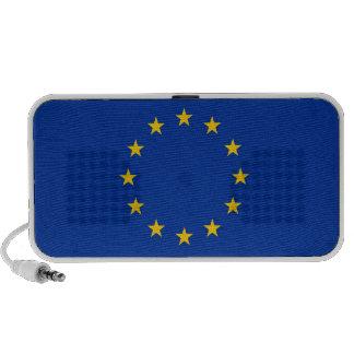 Audio del Doodle con la bandera de la unión europe iPhone Altavoces
