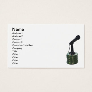 Audio Disks Business Card