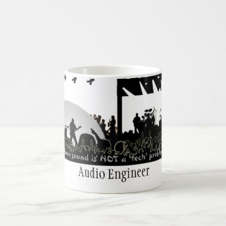 "Audio Engineer - ""Not a Tech Problem"" Coffee Mug"