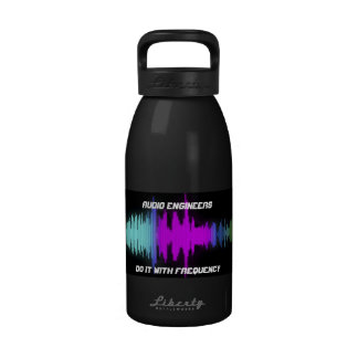 Audio Engineers Do It With Frequency Water Bottle