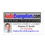 Audio Evangelism Business Cards