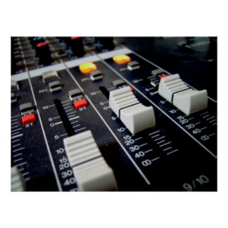 audio mixer print