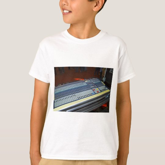 audio mixing console - sound board T-Shirt
