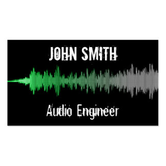 Audio & Music Business Card