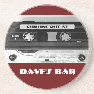 Audio Music Cassette Beer Wine Coffee Mug Coaster