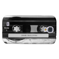 Audio Music Cassette Tape Galaxy S4 Galaxy S4 Cover at Zazzle