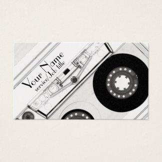 Audio music production DJ play business card