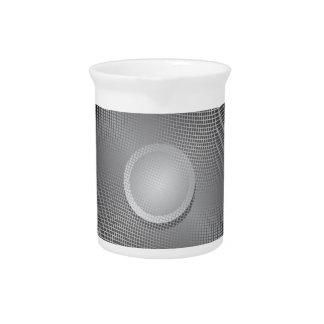 Audio speaker beverage pitchers
