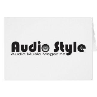 Audio Style - Card
