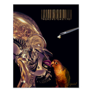 Audio Tooth Implant  (Print) Poster