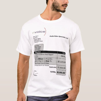 Audio Video Specialist Light T-Shirt