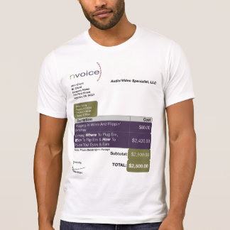 Audio Video Specialist LightColor T-Shirt