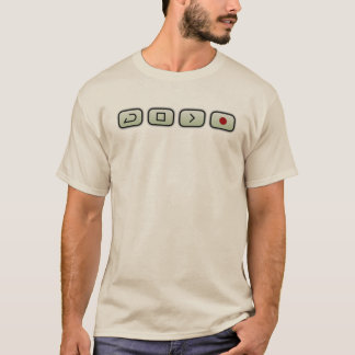 Audio Workstation Buttons T-Shirt