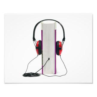 audiobook headphones read book audio education photo art
