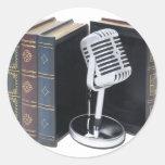 AudioBooks042211 Pegatinas Redondas