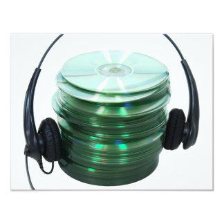 AudioCDs042109 Invitación 10,8 X 13,9 Cm