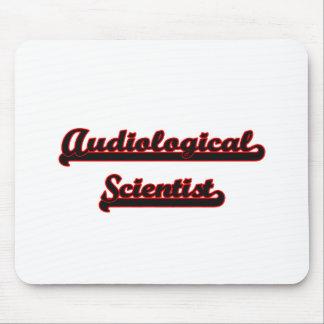 Audiological Scientist Classic Job Design Mouse Pad