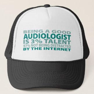 Audiologist 3% Talent Trucker Hat
