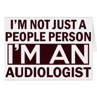 audiologist design card