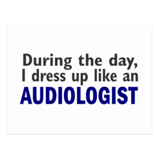 Audiologist During The Day Postcard