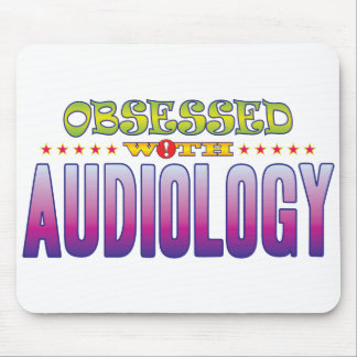 Audiology 2 Obsessed Mouse Pad