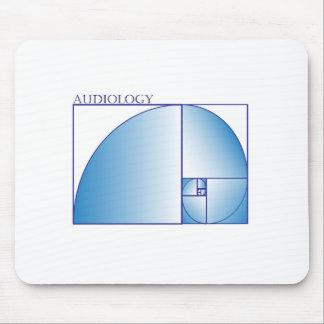 Audiology Fubonacci Mouse Pad