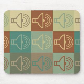 Audiology Pop Art Mouse Pad
