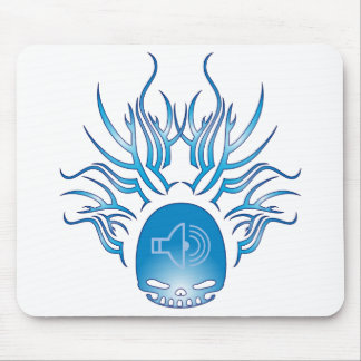 Audiology Skull Mouse Pad