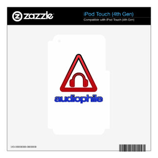Audiophile iPod Touch 4G Skin