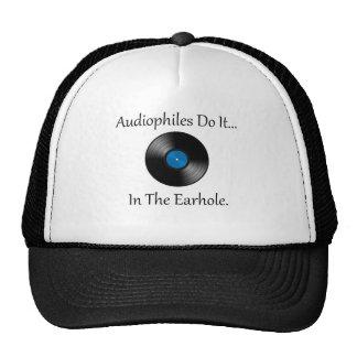 Audiophiles lo hace… En el Earhole. Gorras