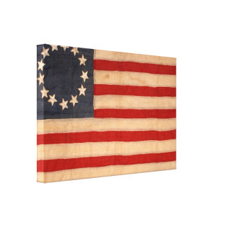 audiophiliacs.com ALL AMERICAN FLAG WAVER print