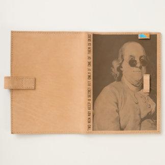AUDIOPHILIACS.COM Ben Franklin leather journal