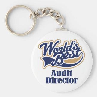 Audit Director Gift Keychains