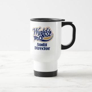 Audit Director Gift Travel Mug
