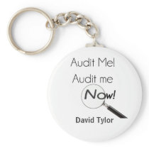 Audit me! keychain