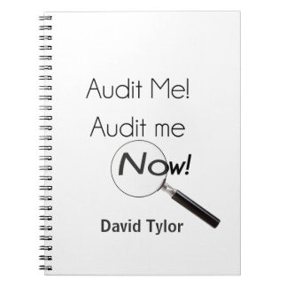 Audit me! notebook