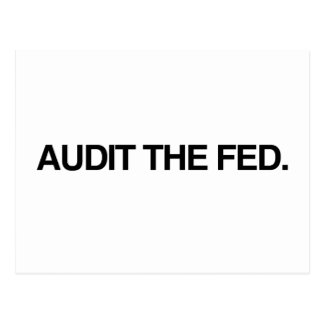 AUDIT THE FED POST CARDS