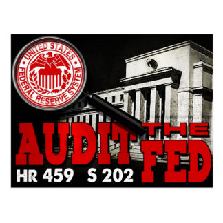Audit the Fed Postcard