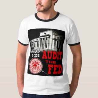 Audit the Fed Ringer T-Shirt