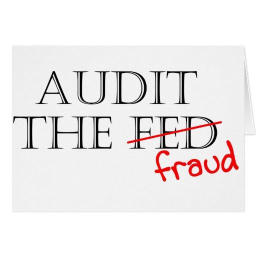 Audit the Fraud Card