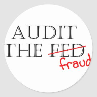 Audit the Fraud Stickers