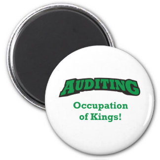 Auditing / Kings 2 Inch Round Magnet