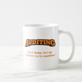 Auditing-Numbers Coffee Mug
