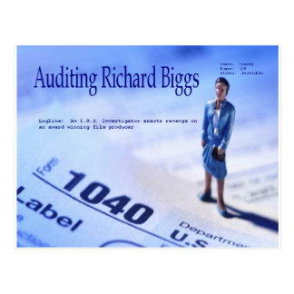 Auditing Richard Biggs Postcard